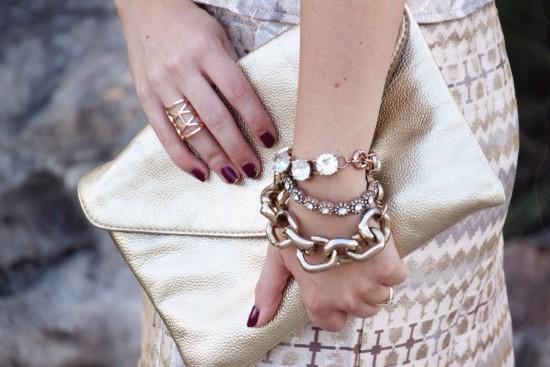 Sunshine & Stilettos Blog: Dripping in Gold...