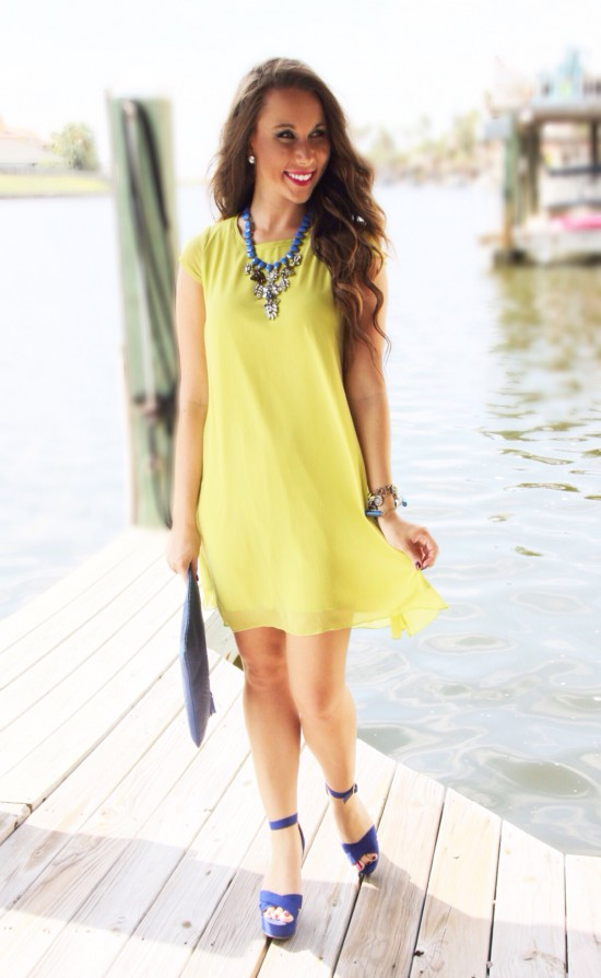 Sunshine & Stilettos Blog: Bright Colors by the Shore...