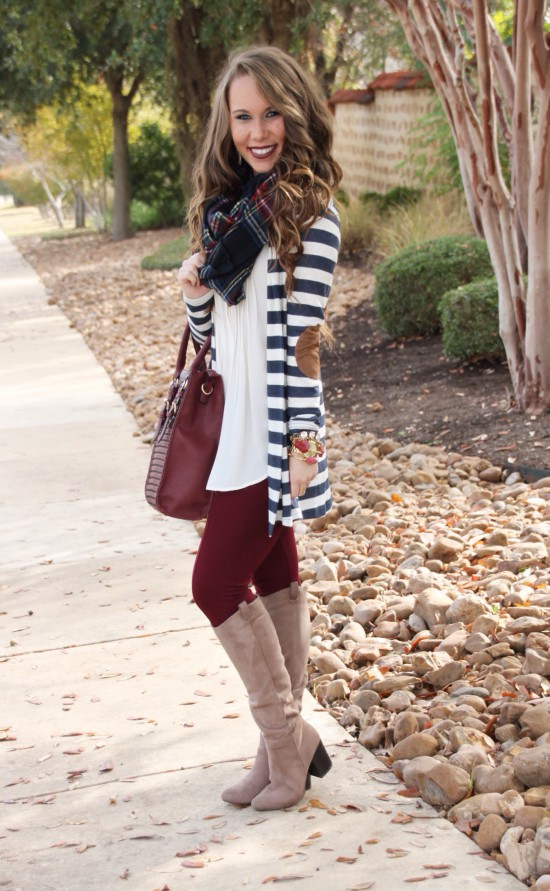 Sunshine & Stilettos Blog: Plaid and Stripes...