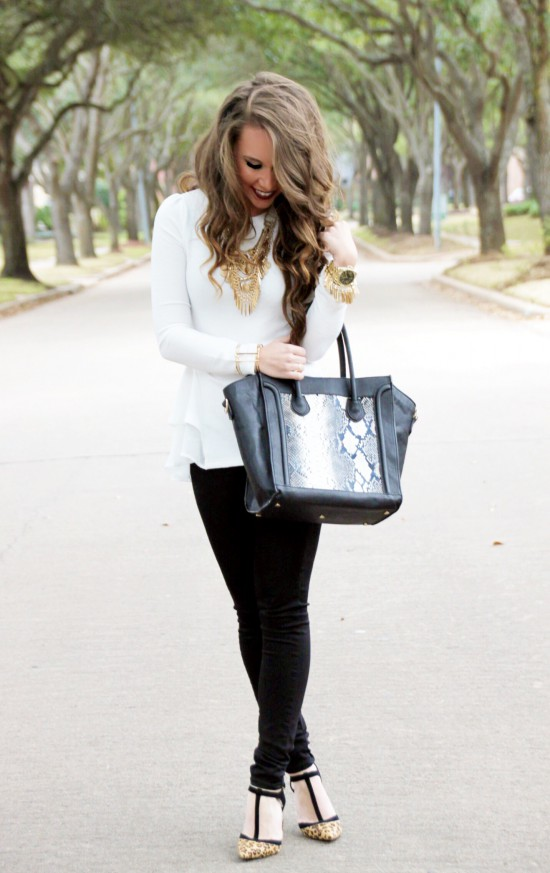 Sunshine & Stilettos Blog: Double Peplum...