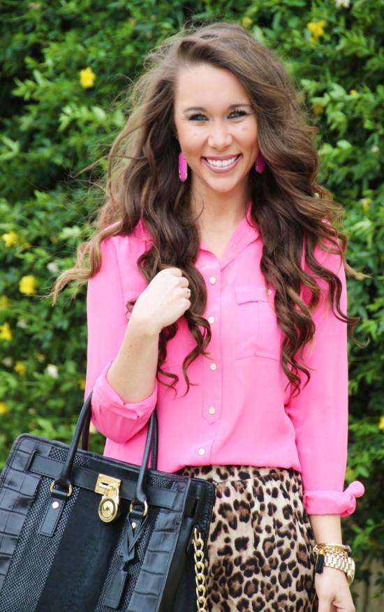 Sunshine & Stilettos Blog: Leopard Scalloped Shorts...