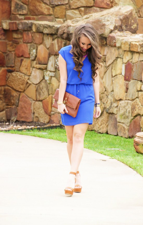 Sunshine & Stilettos Blog: Royal Blue...