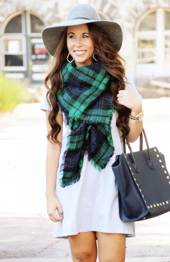 Blanket Scarf Fall Outfit